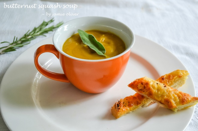 Jamie Oliver butternut squash soup